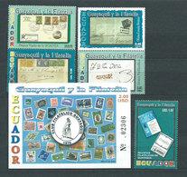 Ecuador - Correo 2003 Yvert 1748/52+Hb 124 ** Mnh - Equateur