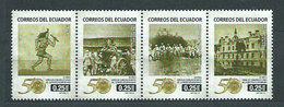 Ecuador - Correo 2012 Yvert 2446/9 ** Mnh - Ecuador