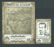 Ecuador - Correo 2013 Yvert 2499+Hb 169 ** Mnh  Audiencia Real De Quito - Ecuador