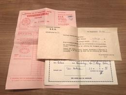 Oostende S.E.O. 1978-1980 Documenten - Oostende