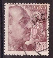PIA  -  SPAGNA : 1939 : Generale Franco  -  (Yv 665) - 1931-Aujourd'hui: II. République - ....Juan Carlos I