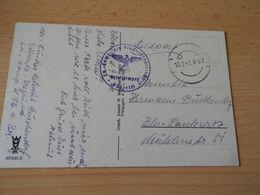 """Feldpostkarte """" Fliegerhorst Döberitz (Jagdgeschwader Richthofen) Gel.1941 - Documenten"""