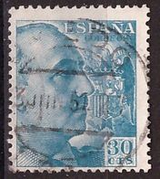 PIA  -  SPAGNA : 1939 : Generale Franco  -  (Yv 666) - 1931-Aujourd'hui: II. République - ....Juan Carlos I