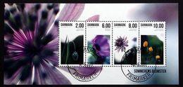 Denmark 2011   Flowers/Blummen Minr.1650-53  Block 43  (o)    ( Lot Mappe ) - Used Stamps
