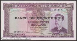 TWN - MOZAMBIQUE 118a - 500 Escudos 22.3.1967 (1976) UNC - Mozambique