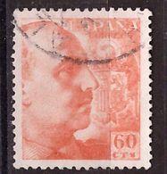 PIA  -  SPAGNA : 1939 : Generale Franco  -  (Yv 670) - 1931-Aujourd'hui: II. République - ....Juan Carlos I