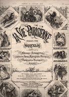 La Vie Parisienne N°4 La Saison à Nice - Une Journée à Nice Avec Gravures - Les Enfants Du Capitaine Grant De 1879 - Bücher, Zeitschriften, Comics