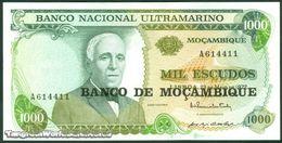 TWN - MOZAMBIQUE 119a - 1000 1.000 Escudos 23.5.1972 (1976) Prefix A AU - Moçambique