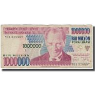 Billet, Turquie, 1,000,000 Lira, KM:209, B - Turchia