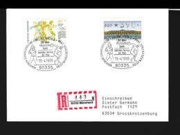 Germany Registered Cover München 1996 100 Jahre Olympische Spiele  (G89-69) - Summer 1996: Atlanta