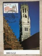 """1907 Avec Cachet """"Brugge Bloedprocessie 24-5-1979"""" - Cartas Commemorativas"""
