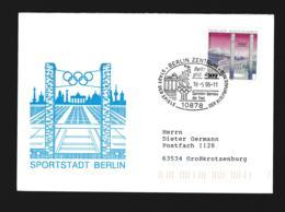 Germany Cover Berlin Zentrum 1996 Berlin Grüsst Atlanta - Stadt Der Spiele Olympische Spiele  (G89-69) - Summer 1996: Atlanta