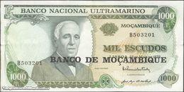 TWN - MOZAMBIQUE 119a - 1000 1.000 Escudos 23.5.1972 (1976) Prefix B XF/AU - Mozambique