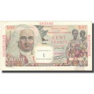 French Antilles, 1 Nouveau Franc On 100 Francs, Undated (1961), TTB+, KM:1a - Frankrijk