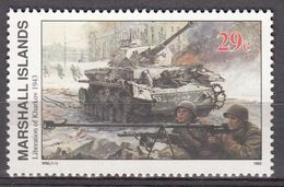 Marshall Islands 1993 WO II Liberation Of Kharkov  Michel 453  MNH 28053 - Marshall