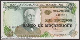 TWN - MOZAMBIQUE 119a - 1000 1.000 Escudos 23.5.1972 (1976) Prefix B UNC - Mozambique