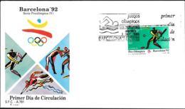 Spain FDC 1992 Barcelona Olympic Games (G89-68) - Summer 1992: Barcelona