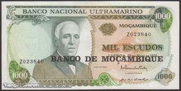 TWN - MOZAMBIQUE 119a - 1000 1.000 Escudos 23.5.1972 (1976) Replacement Z UNC - Mozambique