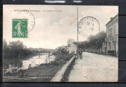 24 - Mouleydier - La Riviere Et Le Pont - Animée - France