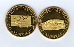 Médaille Touristique De La Fonderie Saint-Luc -35 ESSE -Dolmen De La Roche Aux Fées - Site Mégalithique - Tourist