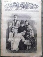 L'illustrazione Popolare 13 Ottobre 1889 Rivolta Candia Edison Augusta Germania - Avant 1900