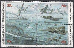 Marshall Islands 1993 WO II Battle Of Bismarck Sea 1943  Michel 454-57  MNH 28055 - Marshall