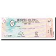 Billet, Argentine, 1000 Pesos Argentinos, KM:S2604a, NEUF - Argentinien