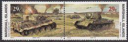 Marshall Islands 1993 WO II Battle Of Kursk 1943  Michel 471-72  MNH 28056 - Marshall