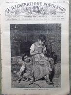 L'illustrazione Popolare 20 Ottobre 1889 Scuola Regina Margherita Arkiko Parigi - Avant 1900