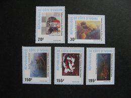 Cote D'Ivoire:  TB Série N° 809 Au N° 813, Neufs XX. - Côte D'Ivoire (1960-...)