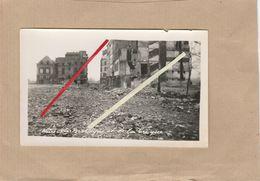 Dept 76 : ( Seine Maritime ) Le Havre, Guerre 39/45, Bombardement, Saint-François, Rue De Bretagne Et Rue De La Crique. - 1939-45
