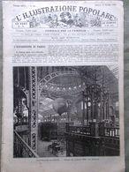 L'illustrazione Popolare 27 Ottobre 1889 Streghe Vincenzo Prato Orleans Luigi I - Avant 1900