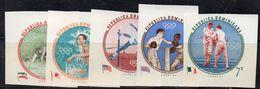 BIGX30 - REPUBBLICA DOMINICANA -YVERT Nº 542/546  ***  MNH ROMA 1960 - Verano 1960: Roma