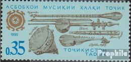 Tadschikistan 3 (kompl.Ausg.) Postfrisch 1992 Musikinstrumente - Tajikistan