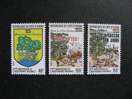 Cote D'Ivoire:  TB Série N° 816 Au N° 818, Neufs XX. GT. - Côte D'Ivoire (1960-...)