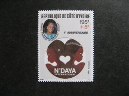 Cote D'Ivoire: TB N° 819, Neuf XX. - Côte D'Ivoire (1960-...)