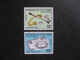 Cote D'Ivoire: TB Paire  N° 820 Et N° 821, Neufs XX. GT. - Côte D'Ivoire (1960-...)