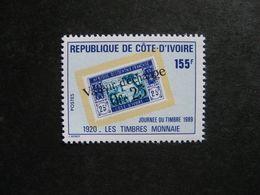 Cote D'Ivoire: TB N° 822, Neuf XX. - Côte D'Ivoire (1960-...)