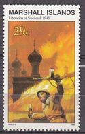 Marshall Islands 1993 WO II Liberation Of Smolensk 1943  Michel 494 MNH 28060 - Marshall