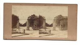 PARIS PRE CATELAN PHOTO STEREO CIRCA 1860 /FREE SHIPPING R - Fotos Estereoscópicas