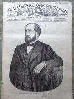 L'illustrazione Popolare 3 Novembre 1889 Emile Augier Cremazione Padiglione Roma - Avant 1900