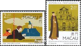 Macau 917-918 (kompl.Ausg.) Postfrisch 1997 Luís Fróis - Macao