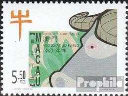 Macau 892 (kompl.Ausg.) Postfrisch 1997 Chinesisches Neujahr - Macao