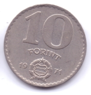 MAGYAR 1971: 10 Forint, KM 595 - Hongrie