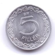MAGYAR 1965: 5 Filler, KM 549 - Ungarn