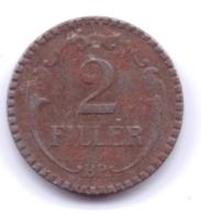 MAGYAR 1940: 2 Filler, KM 518 - Hungría