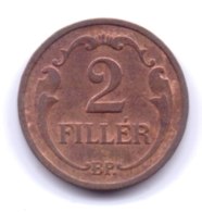 MAGYAR 1934: 2 Filler, KM 506 - Hungría