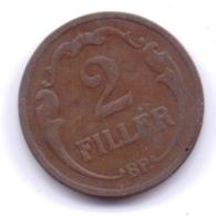 MAGYAR 1926: 2 Filler, KM 506 - Hungría