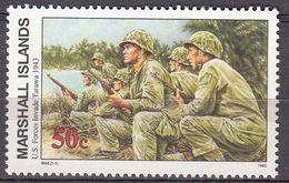 Marshall Islands 1993 WO II U.S.Forces InvadeTarawa 1943  Michel 495 MNH 28061 - Marshall