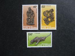 Cote D'Ivoire:  TB Série N° 825 Au N° 827, Neufs XX. GT. - Côte D'Ivoire (1960-...)